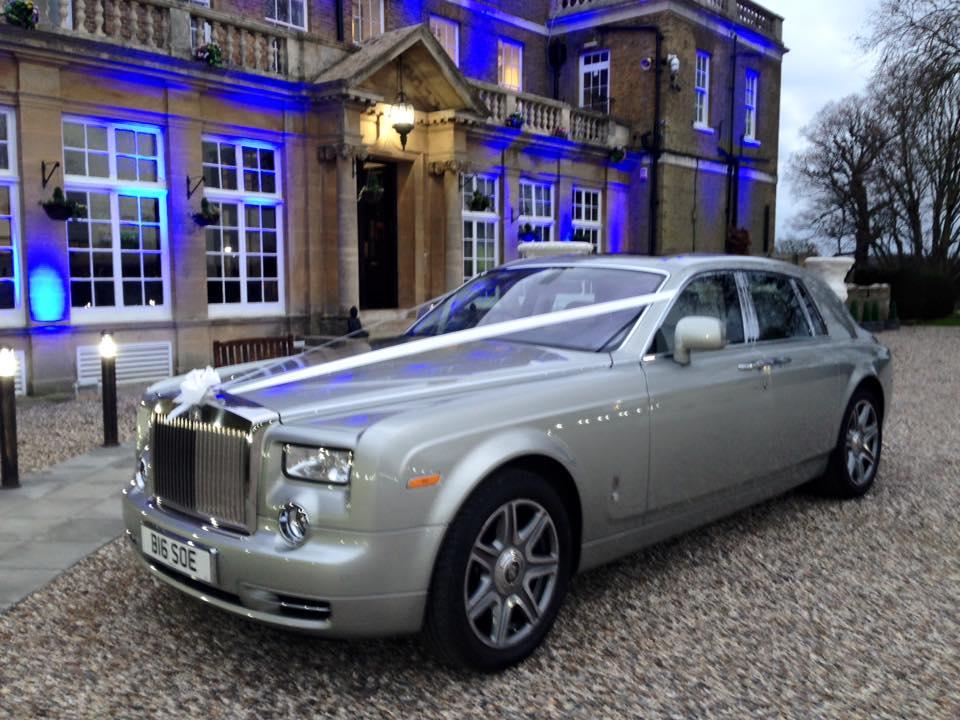 Silver Rolls Royce Rolls Royce Phantom For Wedding Hire
